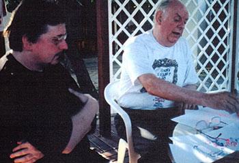 Michael Batz et Dario Fo