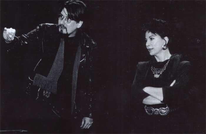 Michael Batz et Isabel Allende